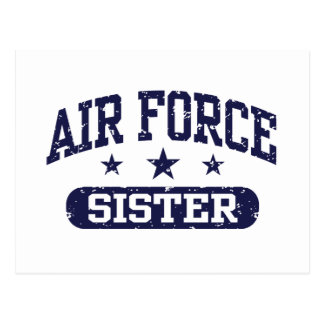 Air Force Sister Post Cards