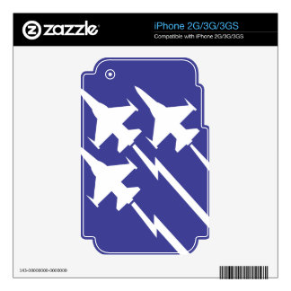 Air Force Decals For The iPhone 3