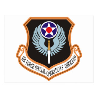 Air Force Special Operations Command Postcard