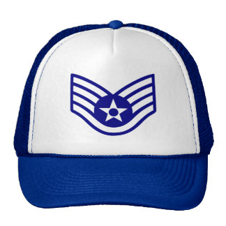Air Force SSgt rank Hat