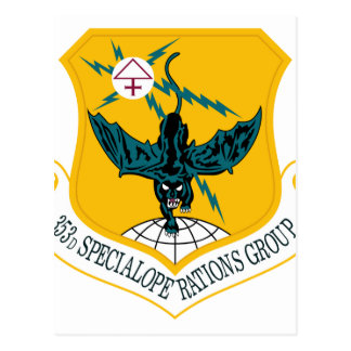 Air Force SSI 353rd Special Operations Group Postcard