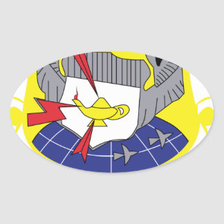 Air Force SSI Advanced Airlift Tactics Training Ce Oval Sticker
