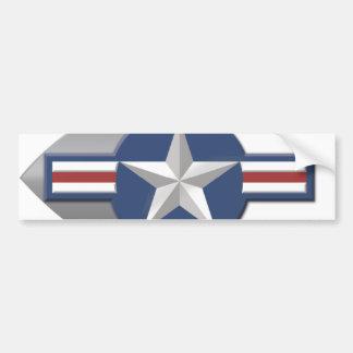 Air Force Star Bumper Sticker