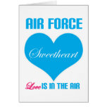 Air Force Sweetheart Love Is In The Air Card