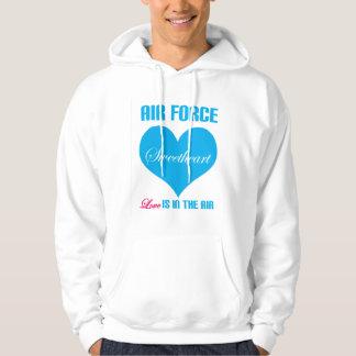 Air Force Sweetheart Love Is In The Air Hoodie