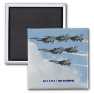Air Force Thunderbirds 2 Inch Square Magnet