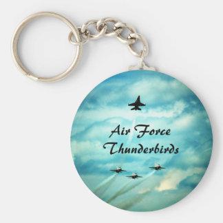 Air Force Thunderbirds II Basic Round Button Keychain