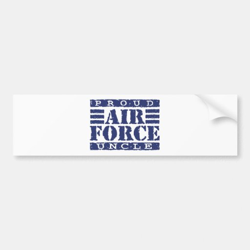 Air Force Uncle Bumper Sticker