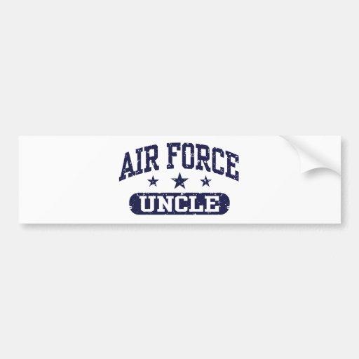 Air Force Uncle Bumper Sticker