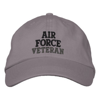 Air Force Veteran Embroidered Baseball Hat