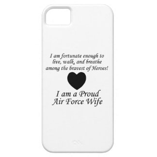 Air Force Wife Fortunate iPhone SE/5/5s Case