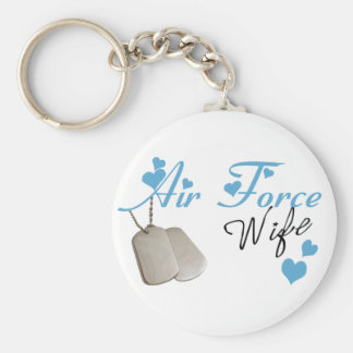Air Force Wife Keychain