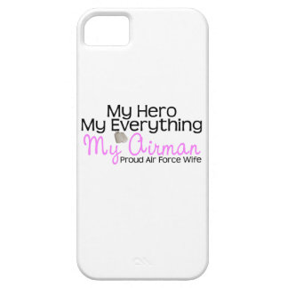 Air Force Wife My Hero iPhone SE/5/5s Case
