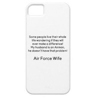 Air Force Wife No Problem iPhone SE/5/5s Case