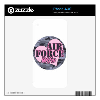 air force wife.png decals for the iPhone 4S