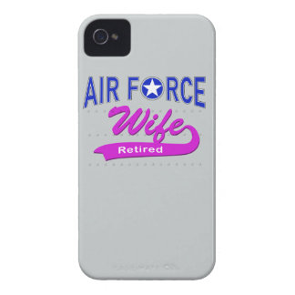 Air Force Wife Retired iPhone4 Case
