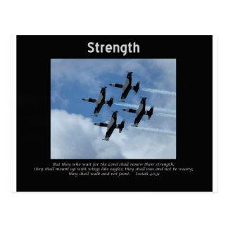 Air Force wings like eagles 2 Postcard