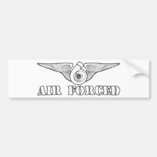 Air Forced Bumper Stickers