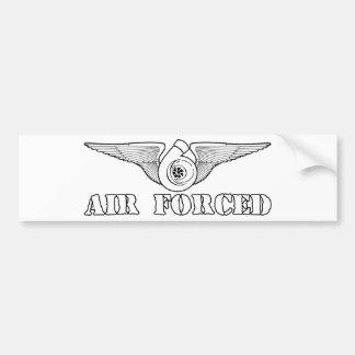 Air Forced Bumper Sticker