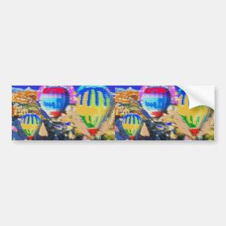 Air Gas Balloon Show Bumper Sticker