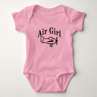 Air Girl Baby Bodysuit