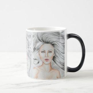 Air Goddess Color Morphing Coffee Mug