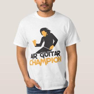 Air Guitar Champion design Tee Shirt