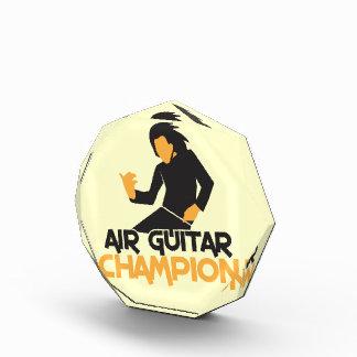 Air guitar Champion NP Acrylic Award
