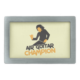 Air guitar Champion NP Belt Buckles