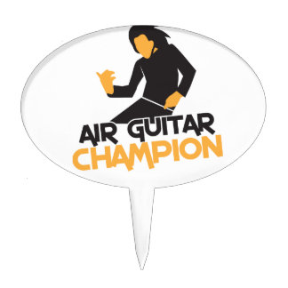 AIR GUITAR CHAMPION NP CAKE PICKS