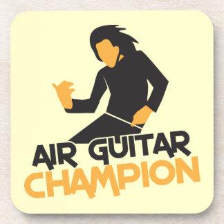 Air guitar Champion NP Coaster