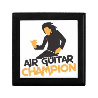 Air guitar Champion NP Keepsake Box