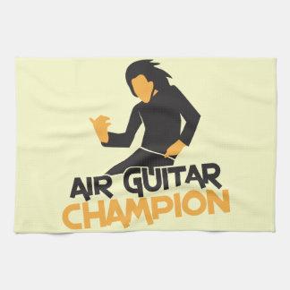 AIR GUITAR CHAMPION NP HAND TOWELS