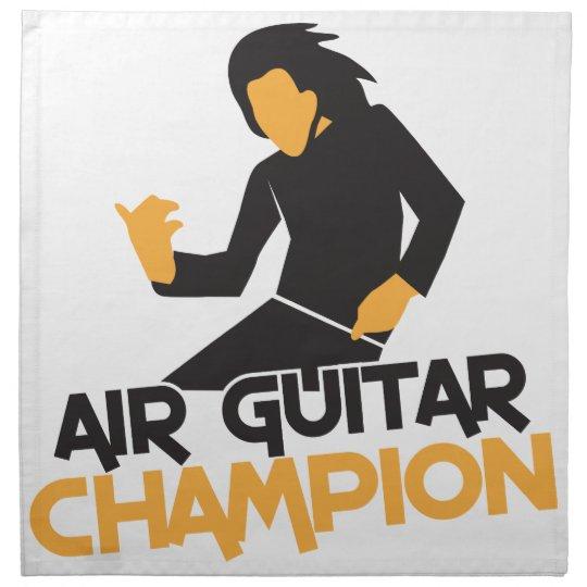 Air guitar Champion NP Napkin