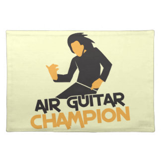 AIR GUITAR CHAMPION NP PLACE MATS