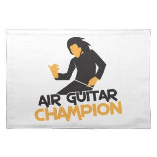 Air guitar Champion NP Placemat