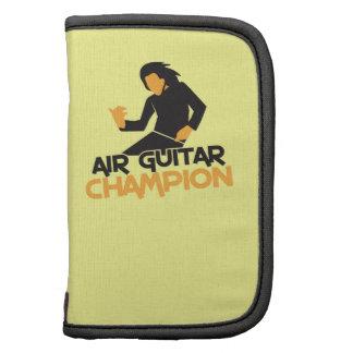 Air guitar Champion NP Folio Planners
