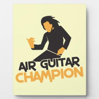 AIR GUITAR CHAMPION NP PLAQUE