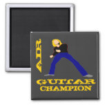 Air Guitar Champion Refrigerator Magnets
