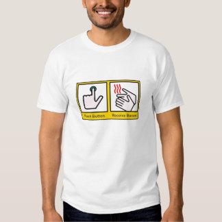 Air Hand Dryer/Receive Bacon shirt
