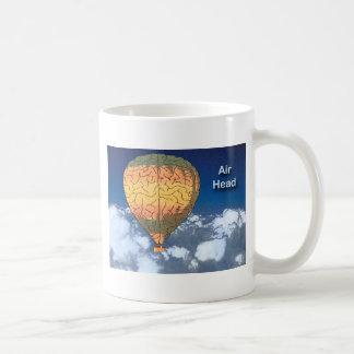 Air Head: Hot Air Balloon Classic White Coffee Mug