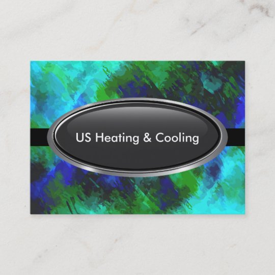 Air Heating And Cooling Business Card Zazzle