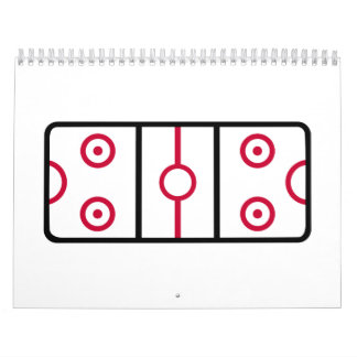 Air hockey calendar