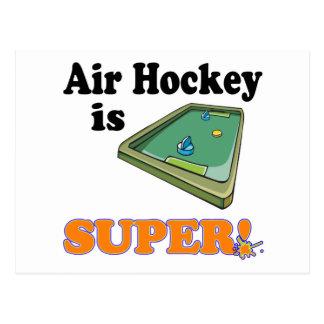 air hockey is super postcard
