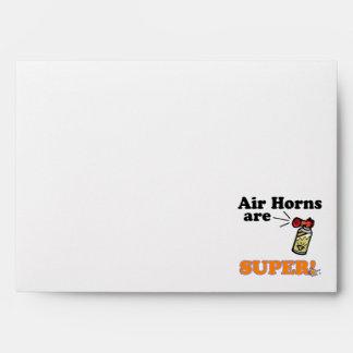 air horns are super envelopes