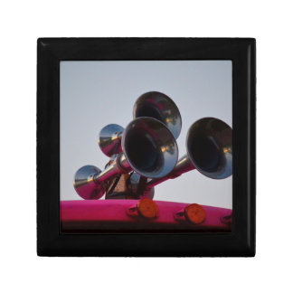 air horns on pink bus car auto jewelry box