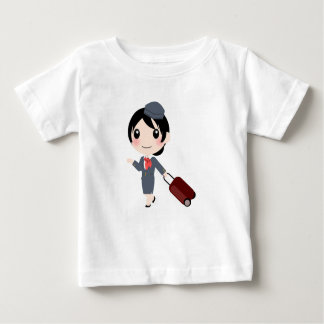 Air Hostess Baby T-Shirt