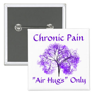 Air Hugs Only 2 Inch Square Button
