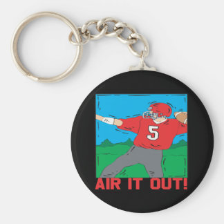 Air It Out Basic Round Button Keychain