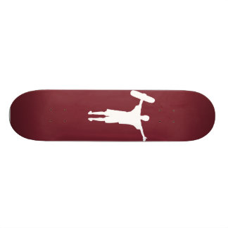 Air Jordan deck Maroon White Skateboard Decks